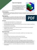 puzzle cube brief