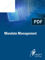 VSoft Mandate Management System