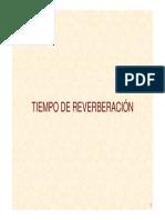 Tiempo Reverberacion