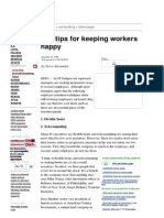 10 Tips 4 Keeping Workers Happy_CNN