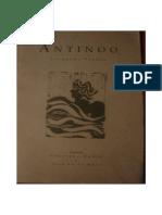 Pessoa, Fernando - [ES] Antinoo (Ácrono)
