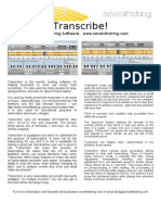 Transcribe Flyer