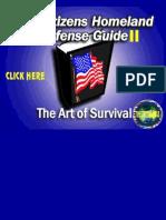 Citizen's Homeland Defense Guide II - The Art of Survival..