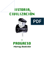 BookchinMurray-Historia Civilizacion y Progreso