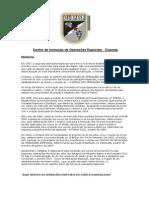 Centro de Instrução de Operações Especiais - BRASIL