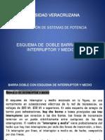 07_esquema de Doble Barra Con Interruptor y Medio