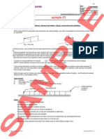 Sample Calculations to Australian Standard AS1170 for design loads for a Post to a Barrier