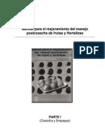Manual Para El Mejoramiento Del Manejo Poscosecha de Frutas y Hortalizas Unidad 1