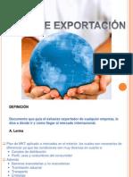 Plan Exportacion