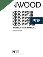 Kenwood KDC User Manual