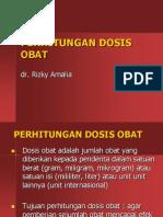 Perhitungan Dosis Obat