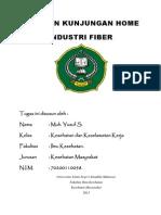 Tugas_ergonomi Dan Faal Kerja_home Industri_muh. Yusuf s._70200110058_bab 1