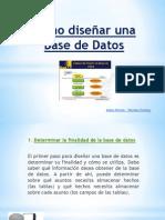 Como diseñar una Base de Datos