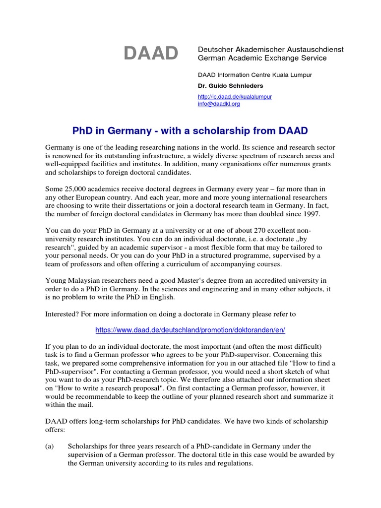 Phd in germany and daad scholarships1 doctor of philosophy phd in germany and daad scholarships1 doctor of philosophy doctorate spiritdancerdesigns Images
