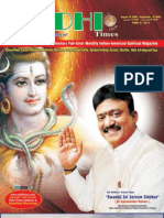 Siddhi Times-August 2009-Dr. Commander Selvam