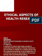 Ethical Aspects of Health Research Nursing Research Ppt