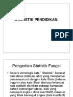 Handout - Statistik Pendidikan(1)