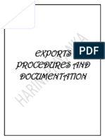 Exports Procedures and Documentation (Autosaved)