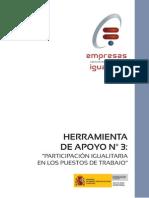 Herramienta de Apoyo n3 Participacion Igualitaria en Los Puestos de Trabajo