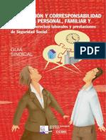 Ccoo Guia Conciliacion y Corresponsabilidad de La Vida Personal, Familiar y Laboral