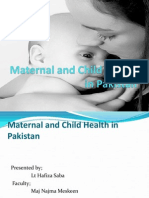 Maternal and Child Health in The