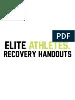 Elite Athletes Recovery Handout