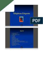 6. Telephone Etiquette