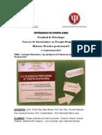 Jornada Informativa - Ley de Ejercicio Profesional - Uba