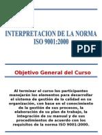 INTERPRETACION ISO90012000
