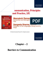 3. Barriers of Communication