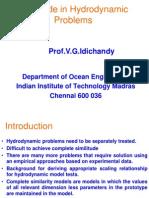 Similitude in Hydrosimilitude in hydrodynamicsdynamics