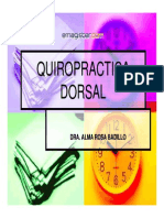 Quiropractica Dorsal