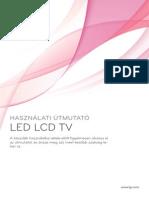 LG LED TV használati útmutató