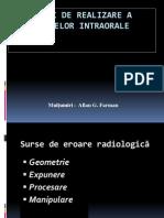 Erori radiografii intraorale