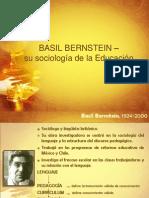 BERNSTEIN.SOCIOLOGÍA DE LA EDUCACIÓN