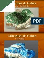 Minerales de Cobre