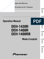 Deh-1400r Manual en Fr de Nl It Es