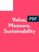 Common-Practice Value Measure Sustainability
