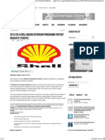 2013_2014 Shell Nigeria Internship Programme for Post Graduate Students. _ OpportunitiesForAfricans