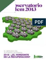 Cetelem Observatorio Auto España 2013 - Contexto y valoración