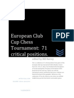 2013 European Club Cup Chess Tournament