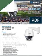 Avtron High Speed Dome Camera AM-CD1127-OS27-PDF