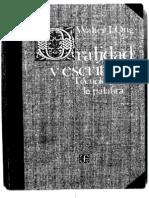 La Escritura Reestructura La Conciencia - Walter Ong