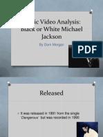 Music Video Analysis MJ