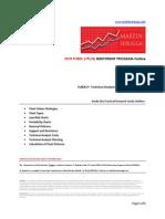 Spot Forex PLUS Mentorship Program Module 8 (Technical Analysis for Spot FOREX Charts-Outline)