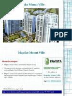 Mapsko Mount Ville Sector 79 Location Map Call @ 09999536147 Gurgaon
