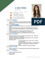 CV - Laura Sanz Pérez con Portfolio