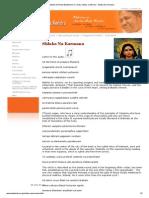 Official Website of Amrita Balakendra in Castro Valley, California - Shloka Na Karmana