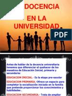 Diapositivas Docencia en La u.