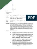 Friars Walk - Newport council funding report